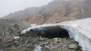 Some crazy snow bridges!
