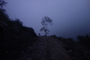 We slept at a lodge in Araghat and headed out at 4:20am on Tuesday morning