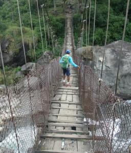 Just a little further - bridge across Kude.