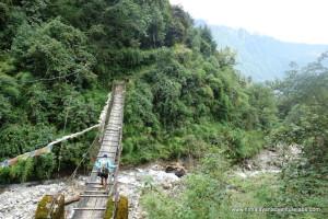 The next morning - moving deeper into Helambu