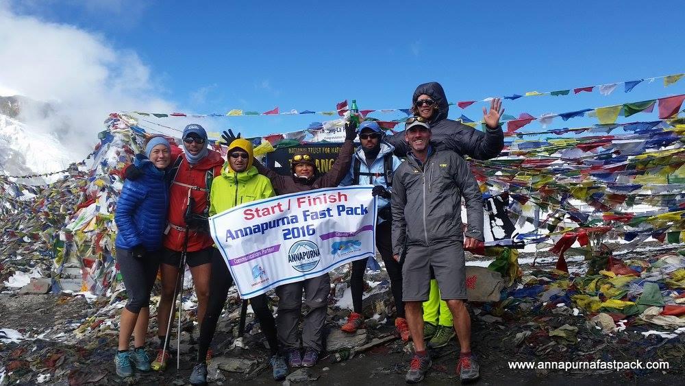 Annapurna Fastpack Thorung Pass (5,416m/17,769ft)